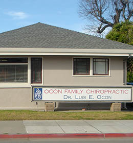 Ocon Family Chiropractic office in Salinas, CA